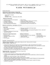 Executive Summary Resume Example Template Sales Executive Resume Samples Executive Resume Packagebrightside