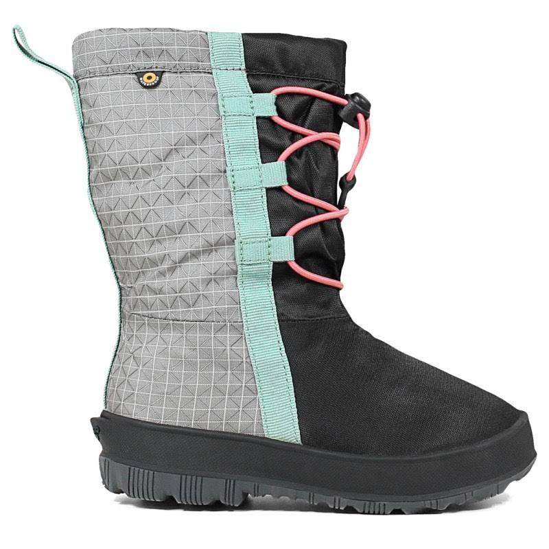 Bogs Snownights Black/Pink Medium 10 72438-983-M-10
