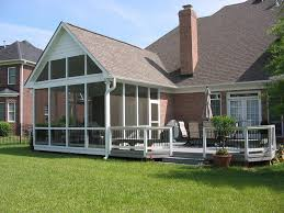 Simple Covered Patio Designs by Pictures Of Decks With Screened Porches Large Screen Porch With