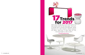 17 home decor and design trends for 2017 city u0026 shore magazine