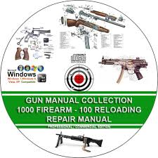gun manual collection 1000 firearm 100 reloading service repair