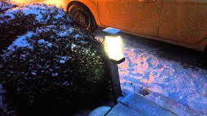 Outdoor Mushroom Lights by Diy Led Outdoor Light The Good Light Youtube