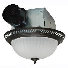 Quiet Bathroom Exhaust Fan Air King Decorative Bronze 70 Cfm Ceiling Bathroom Exhaust Fan