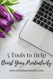 Tools to Boost Productivity  Wedding Planning Tools  SC Wedding Planner