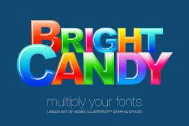 adobe illustrator styles candy layer styles creative market