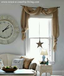 Windows Treatment Ideas For Living Room by Best 25 Burlap Window Treatments Ideas On Pinterest Burlap