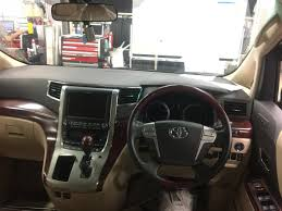 2008 toyota vellfire 3 5v l edition double sunroof leather seat