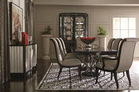 bernhardt miramont 9 piece dining set with double pedestal table