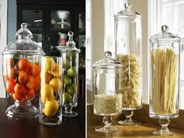 simrim com apothecary jars kitchen decor
