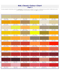 ral color chart template 6 free templates in pdf word excel