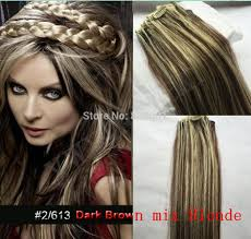 Indian Remy Human Hair Clip In Extensions by Hair Bows With Clips Picture More Detailed Picture About