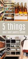 Kitchen Pantry Shelving Ideas by 125 Best Organized Pantry Images On Pinterest Kitchen Ideas