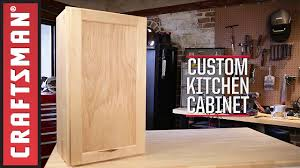 Building Kitchen Cabinet Boxes How To Build Kitchen Cabinets Craftsman Youtube