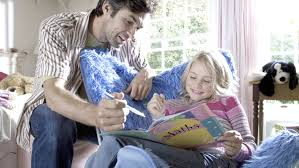 Father calling his daughter     s attention to something on her homework Understood org