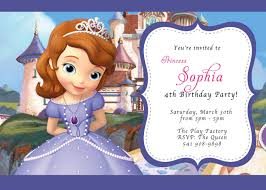 1st birthday princess invitation custom photo invitations disney sofia the first birthday