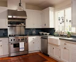 Kitchen Cabinet Cornice by Farmhouse Sink With Backsplash Kitchen Craftsman With Beadboard