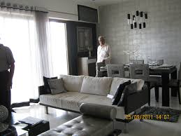 living cum dining of a 3 bhk sample flat in tower 1 at par flickr