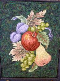 Fruit Rugs Anita Hooks Rugs November 2010
