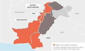 Pakistan On The Map Pakistan Msf Usa