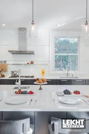 a modern kitchen in a classic boston home