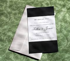 Free E Card Invitations Elegant Black And White Invitation E Card Sample Design For