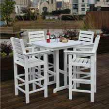 Wood Patio Furniture Sets - the tall patio table set hubpages about 41 height vintage outdoor