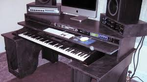 Custom Studio Desks by Home Studio Production Desk Youtube