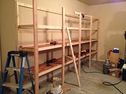 Custom Bookshelves Cost by How To Build Sturdy Garage Shelves Home Improvement Stack