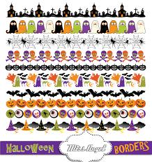 halloween cute clipart cute halloween borders clipart halloween digital ribbons bunting