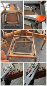 how to easy chair reupholstery tutorial u2013 passion for home