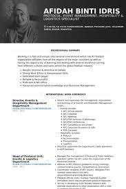 Senior Hr Manager Resume Sample by Hospitality Resume Samples Visualcv Resume Samples Database
