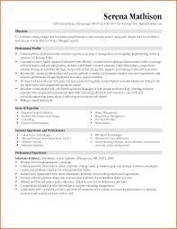 job objective sample resume program manager sample resume free resume example and writing program manager sample resume senior audit manager resume sample senior project