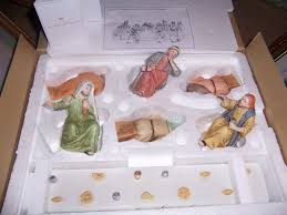 supper figurines greatest stories ever told home interior homco