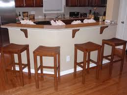 stunning wood bar stools for kitchen
