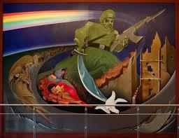 denver airport, denver airport mural, denver airport conspiracy