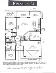 pebblecreek real estate u2013 floor plan newport 4403