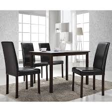 Contemporary Dining Room Table by Amazon Com Baxton Studio 5 Piece Andrew Modern Dining Set