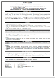 Standard Resume Format  simple resume format sample for jobsimple     How To Write Fresher Engineer CV Format Free download