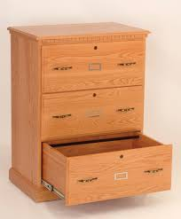 3 drawer lateral file cabinet amish hills fine handmade furniture