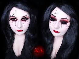 Halloween Makeup Application by Katiealves Katie Alves Deviantart