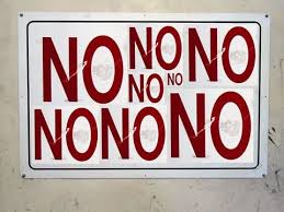 NO NO NO NO NO! | momaroo