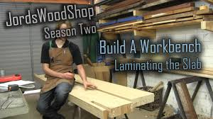 Plans For Building A Wooden Workbench by 202 Build A Solid Workbench On A Budget Split Top Roubo Part