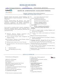 Senior Hr Manager Resume Sample by Resume Hr Manager Consultant Mba 18 Years