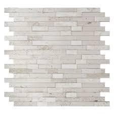 Backsplash Tile For Kitchen Peel And Stick 100 Brick Tile Kitchen Backsplash Beautiful Beige