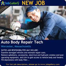 Auto Body Job Description Jobgallery Home Facebook