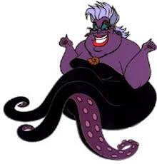Purple Characters - Ursula from Little Mermaid