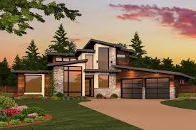 Garage Plans With Porch by Modern Plans Architectural Designs