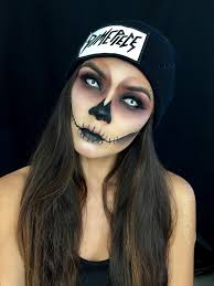 Halloween Makeup Application by Lady Art Looks