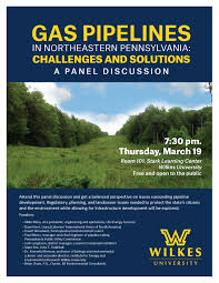 Gas pipelines in Northeastern PA