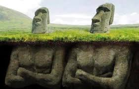 Image result for easter island bodies